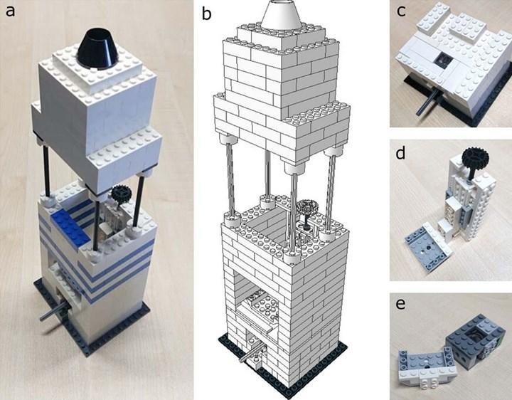 iPhone 5 ve LEGO parçalarından uygun fiyatlı mikroskop yapıldı