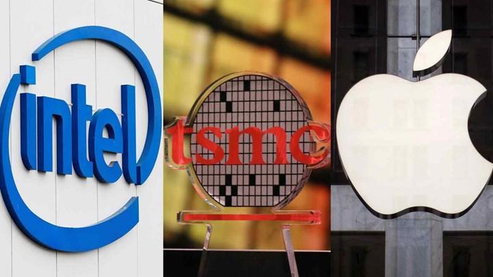 TSMC'nin ilk 3 nm işlemcilerine Apple ve İntel liderlik edecek.