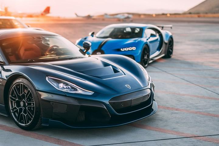 Otomotivde heyecan verici ortaklık: Bugatti ve Rimac
