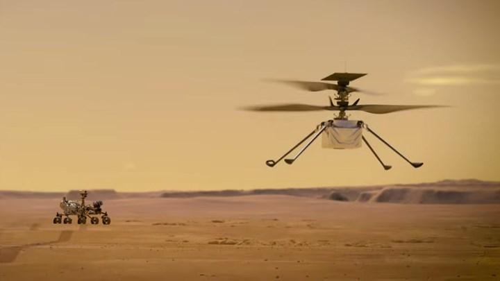 Mars helikopteri dokuzuncu uçuşunu gerçekleştirdi