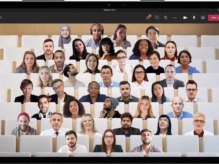 Microsoft Teams, ''Together Mode'' yenileniyor