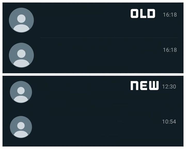 whatsapp arayüz değişikliği