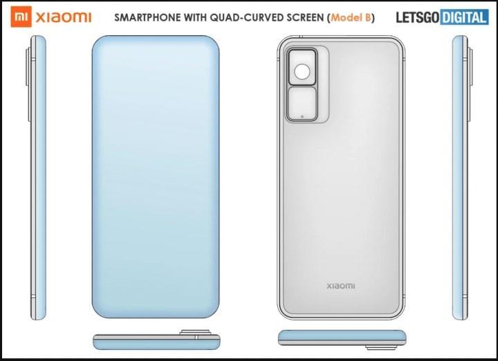Xiaomi, tam kavis ekran patenti aldı