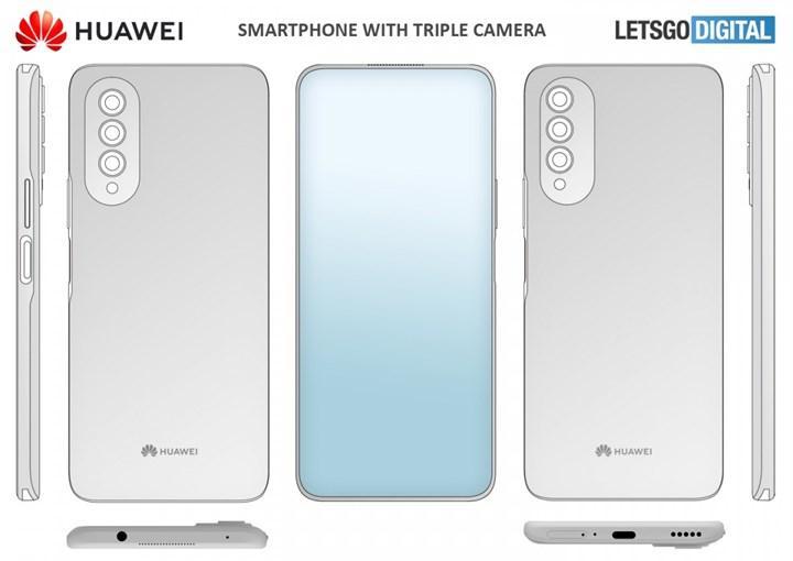 Huawei, ekran altı selfie kamerası patenti aldı