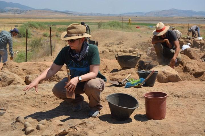Zincirli Höyük kazısında Orta Çağ eserleri bulundu