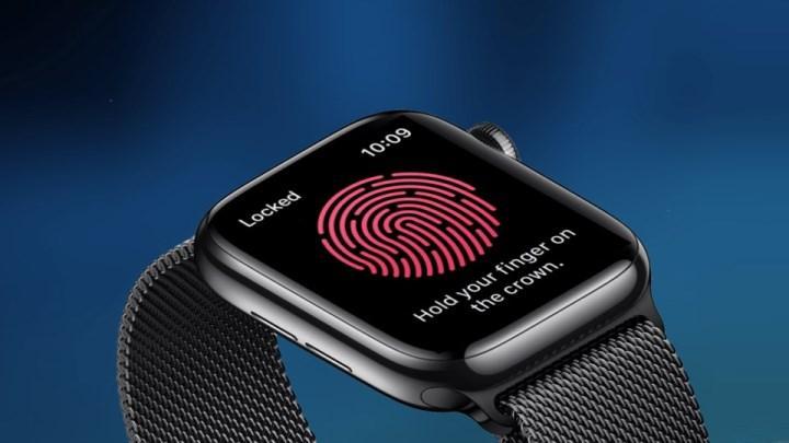 Apple Watch'a Touch ID teknolojisi gelecek mi?