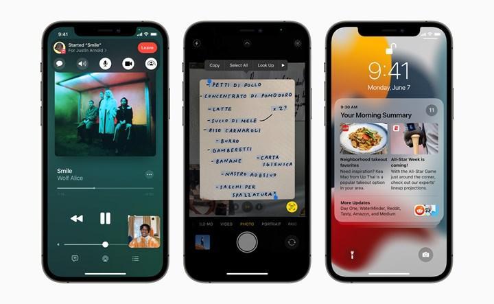 iOS 15'in bazı özellikleri, eski iPhone'larda kullanılamayacak