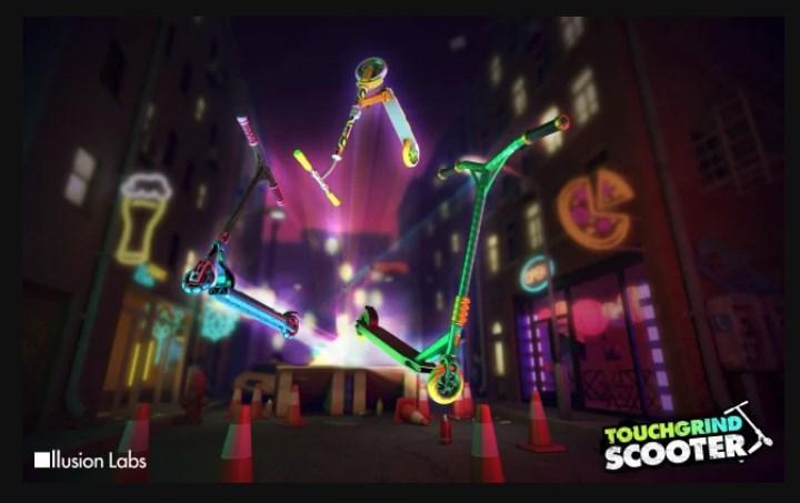 Touchgrind Scooter oyunu, 1 milyon indirmeyi geçti