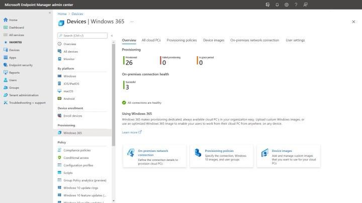 Microsoft'un Windows 365 hizmeti başlıyor