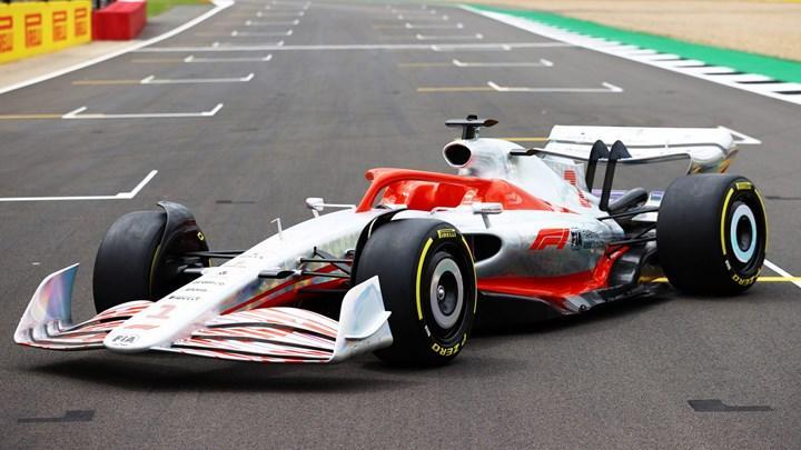 2022 formula 1 araçları ön tasarım