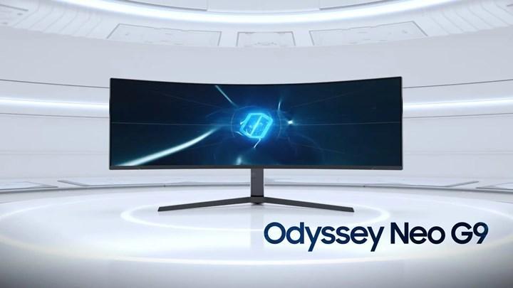Samsung oyuncular için Odyssey Neo G9 monitörünü duyurdu