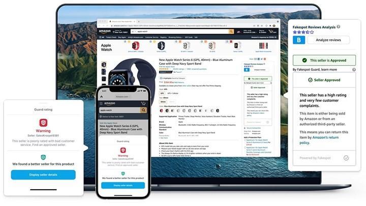 Amazon'un şikayeti üzerine Apple, Fakespot'u App Store'dan kaldırdı