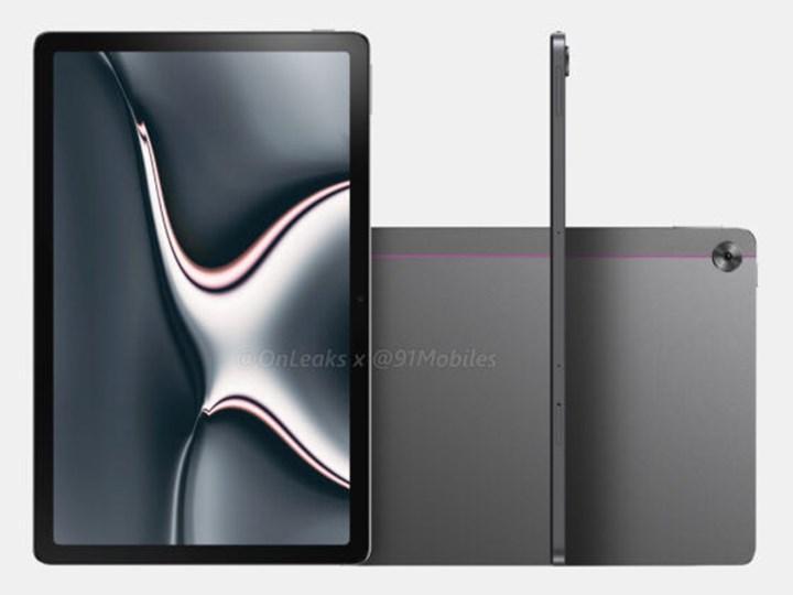 Realme'nin tableti Realme Pad'den görüntüler geldi
