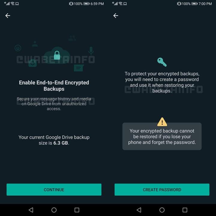 WhatsApp, bulut yedeklemeye uçtan uca şifreleme getiriyor