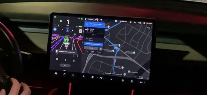 Tesla'nın kendi kendine sürüş paketine yeni sistem