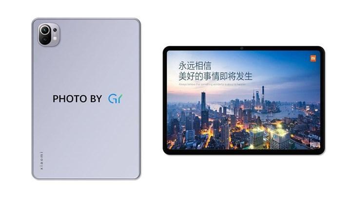 Xiaomi Mi Pad 5'in tasarımı ortaya çıktı
