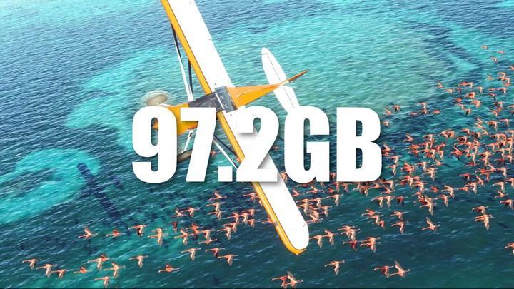 Flight Simulator Xbox'ta 100 GB yer kaplıyor