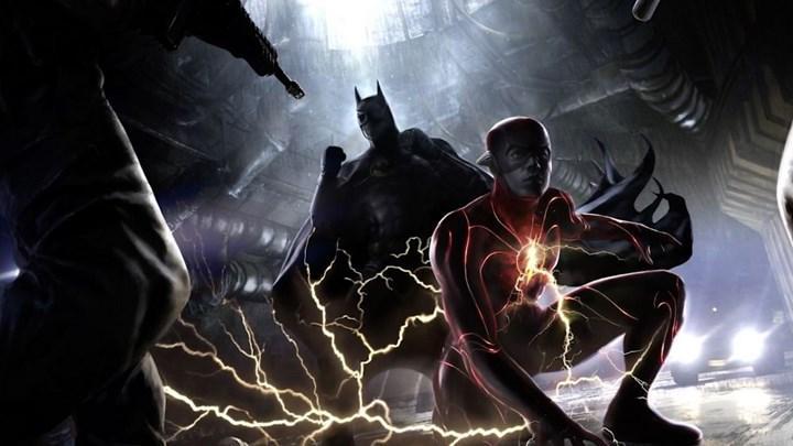 The Flash setinden yeni görseller paylaşıldı