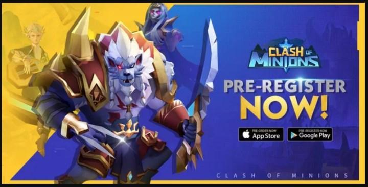 Beklenen mobil oyun Clash of Minions, ön siparişlere açıldı