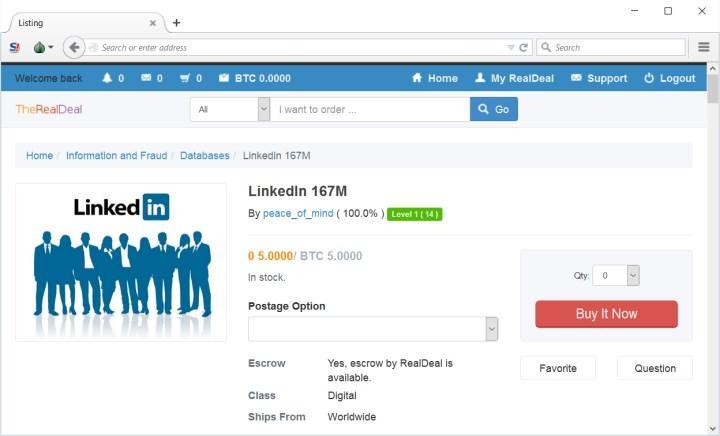 LinkedIn üzerinden veri sızdıran kişi yakalandı