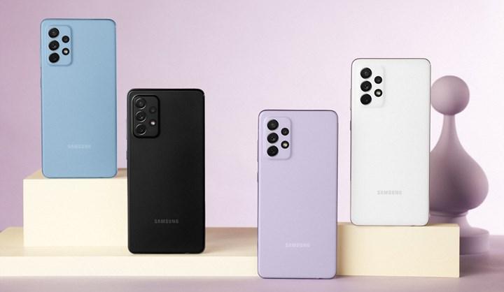 Samsung Galaxy A52 ve Galaxy A72 güncelleme aldı