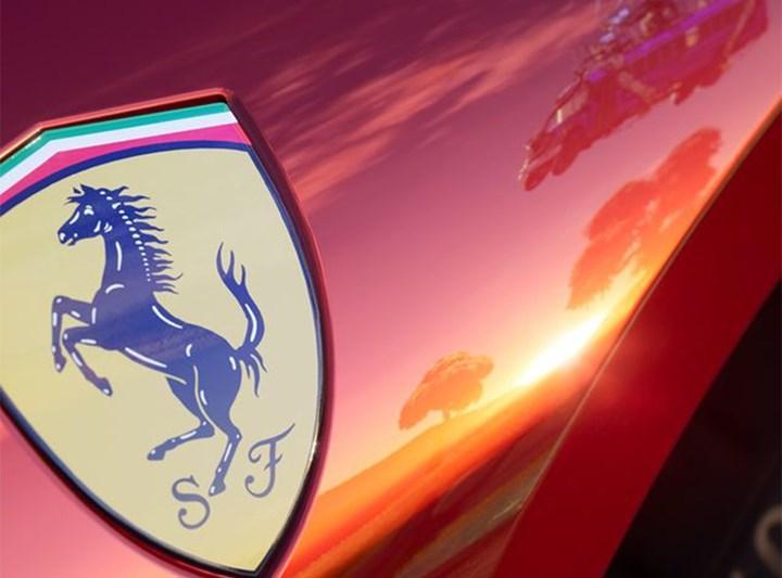 Fortnite, ilk lisanslı arabası için Ferrari ile anlaştı