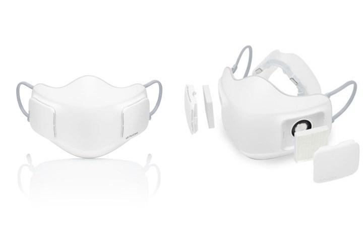 LG'nin yeni maskesi mikron ve hoparlör ile geliyor!