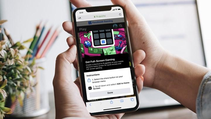 Facebook Gaming, iOS kullanıcıları için web üzerinden açıldı