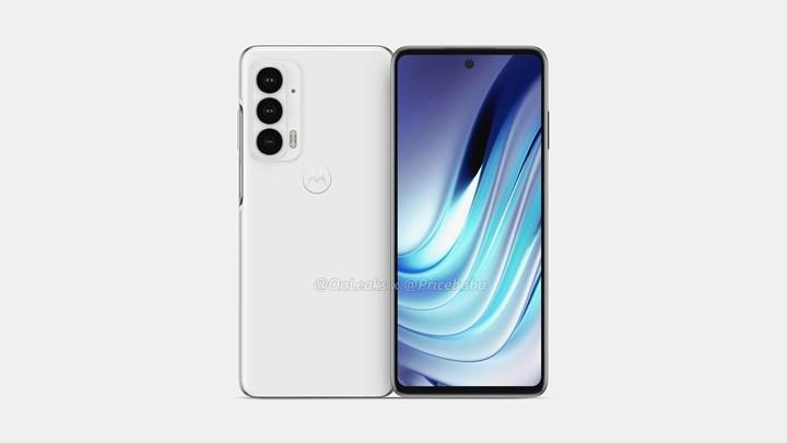 Motorola Edge 20'nin renderları ortaya çıktı