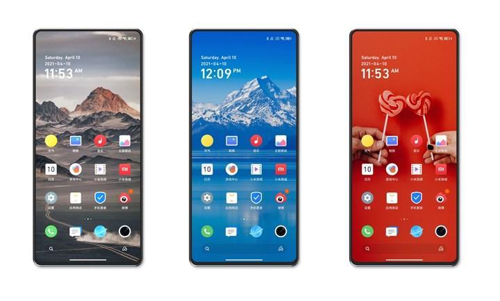 Xiaomi Mi Mix 4'ün ön tasarımı ortaya çıktı