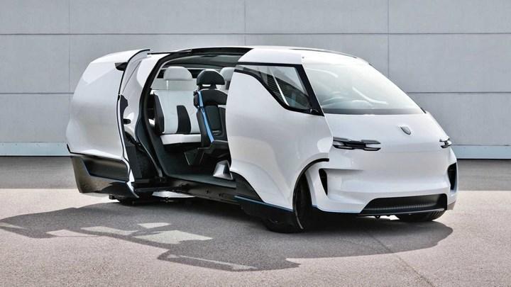 Porsche'den mobilitenin geleceğini gösteren iç mekan konsepti