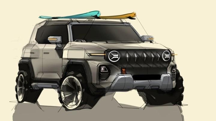 SsangYong'dan yeni SUV geliyor: İşte tasarımı