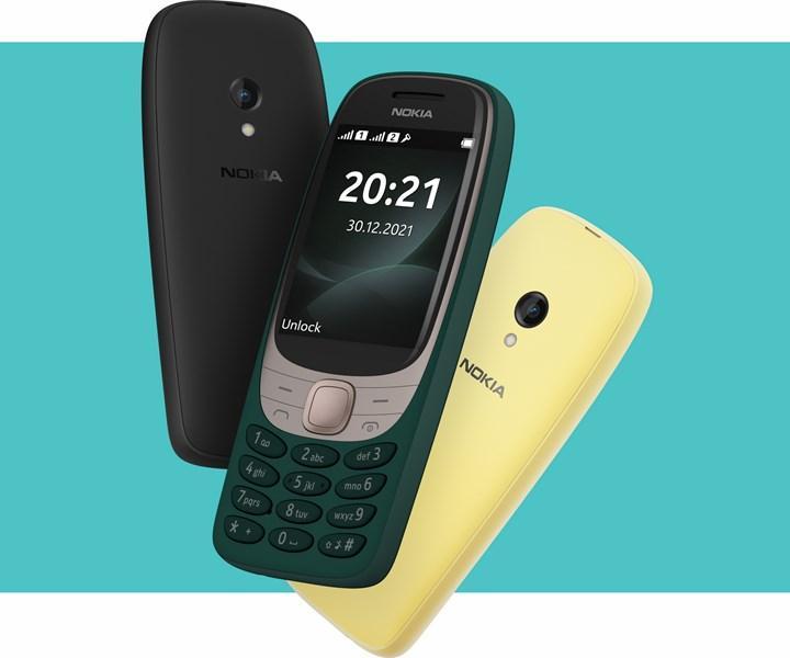 Nokia 6310 daha modern şekilde geri döndü