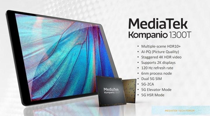 MediaTek Kompanio 1300T tabletlere geliyor