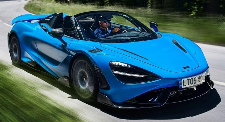 Yeni McLaren 765LT Spider tanıtıldı: İşte tasarımı ve özellikleri