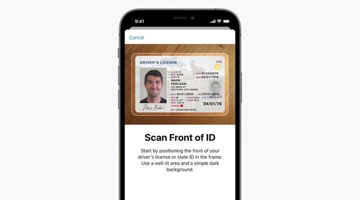iOS 15'e kimlik kartı nasıl eklenecek?