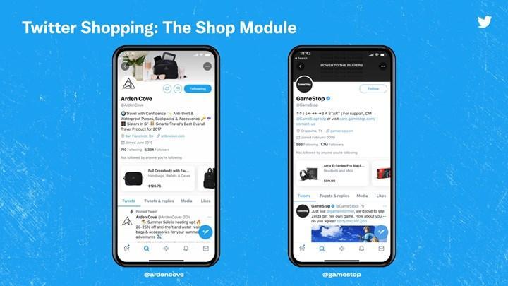 Twitter, alışveriş özelliğini test etmeye başladı