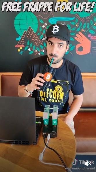 Starbucks'ın beleş elektriği ile Bitcoin madenciliği yaptı