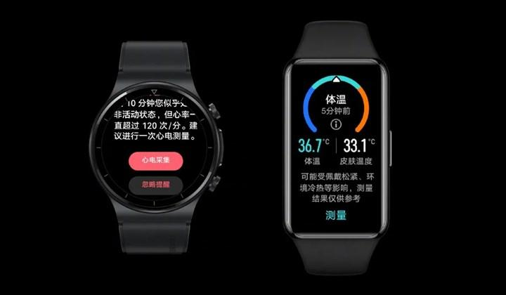 Huawei Watch GT 2 Pro ECG ve Band 6 Pro duyuruldu