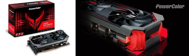 6600XT özel tasarım kartları görüntülendi
