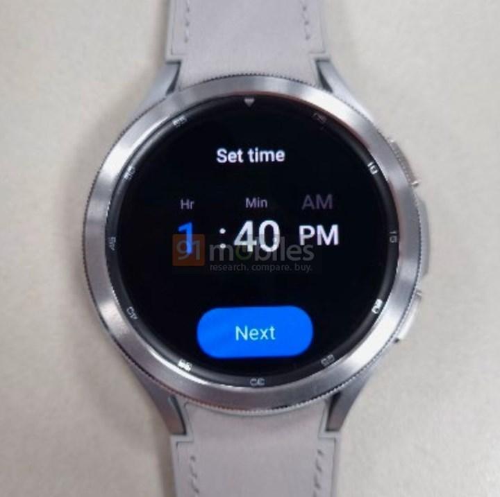 Samsung Galaxy Watch 4 Classic ortaya çıktı