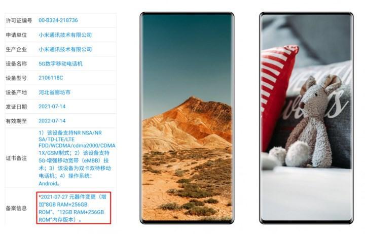 Xiaomi Mi Mix 4 hakkında yeni bilgiler ortaya çıktı