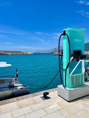 Monaco'daki marinalara elektrikli şarj istasyonları kuruluyor.