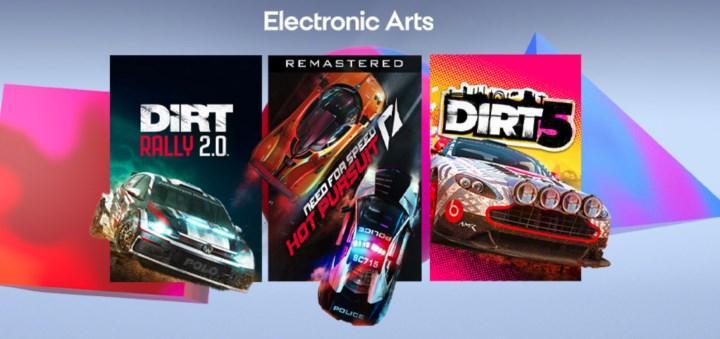 EA ve Codemasters yarış oyunlarına büyük indirimler