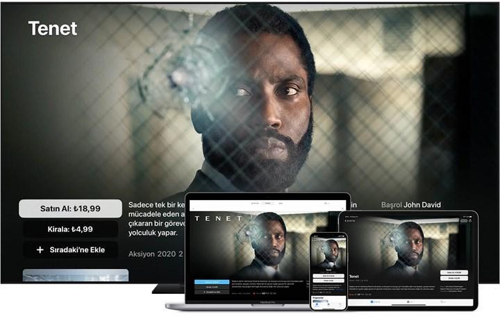 Apple TV uygulamasında satın alınan filmlerde ses sorunu
