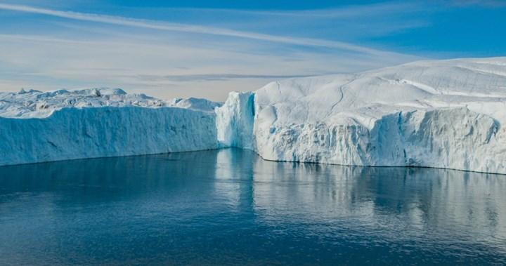 Isı dalgası, Grönland'daki buz tabakasının erimesine neden oluyor