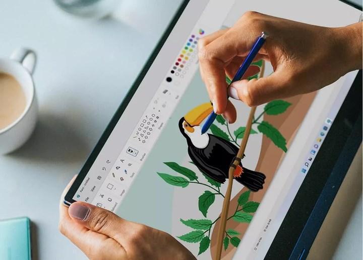 Windows 11'in yeni Paint tasarımı ortaya çıktı