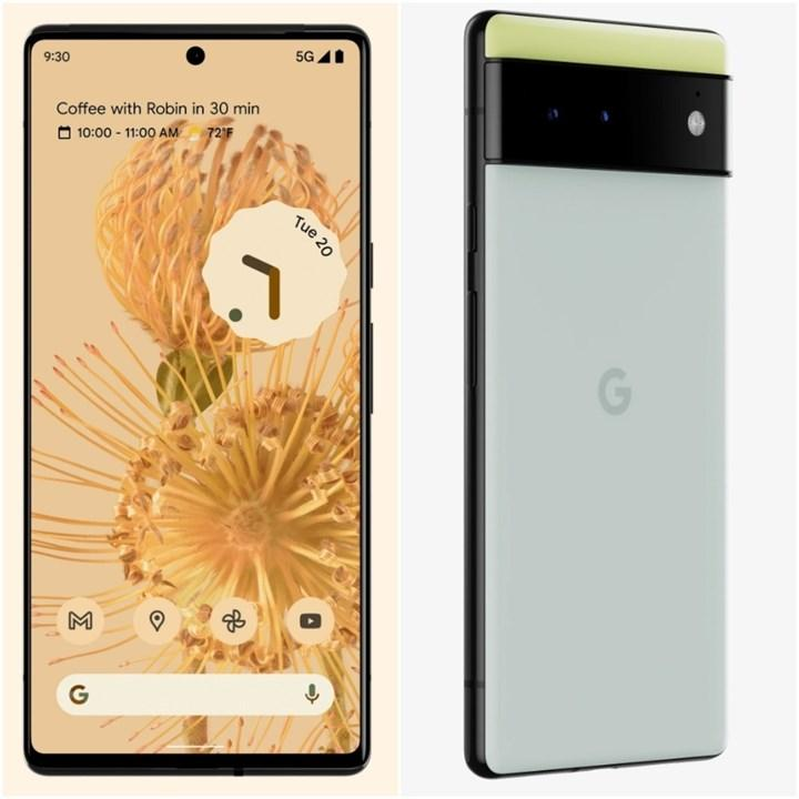 Google Pixel 6 ve Pixel 6 Pro karşınızda