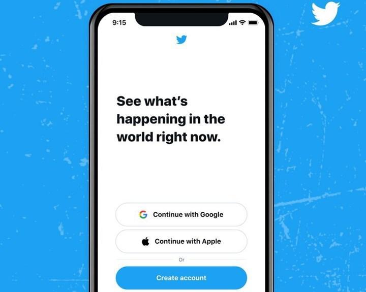 Twitter kullanıcı girişi