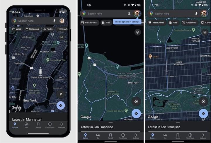 Google Haritalar'ın iOS uygulamasına karanlık mod geliyor
